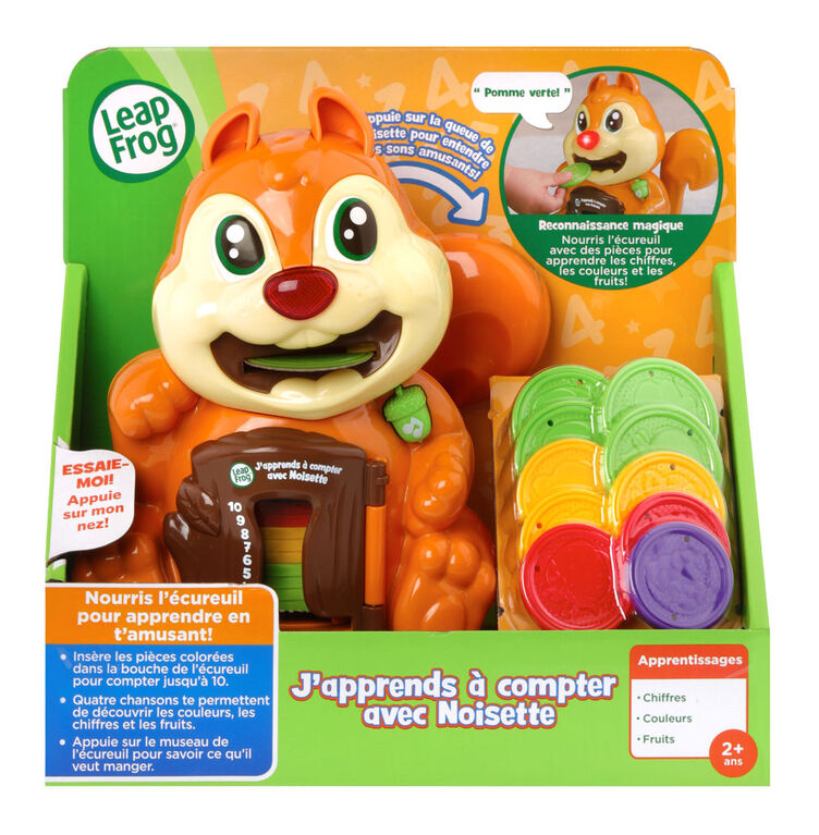 LeapFrog® Number Crunchin' Squirrel™  - French Edition