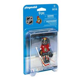 Playmobil - LNH Gardien de but des Sénateurs d'Ottawa