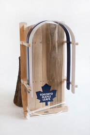 JAB - Baby sled with NHL Toronto Maple Leafs team's logo