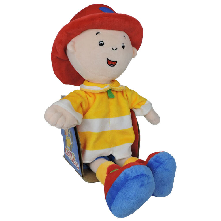 Caillou My Rescue Hero Plush - French Edition