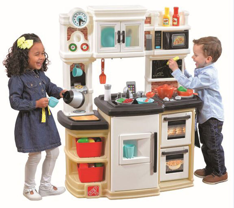 Play Kitchens On Sale: Step2 - Great Gourmet Kitchen - Tan - R Exclusive
