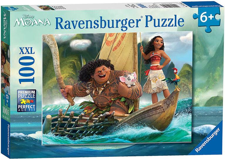 Ravensburger - Moana et Maui casse-têtes 100pc