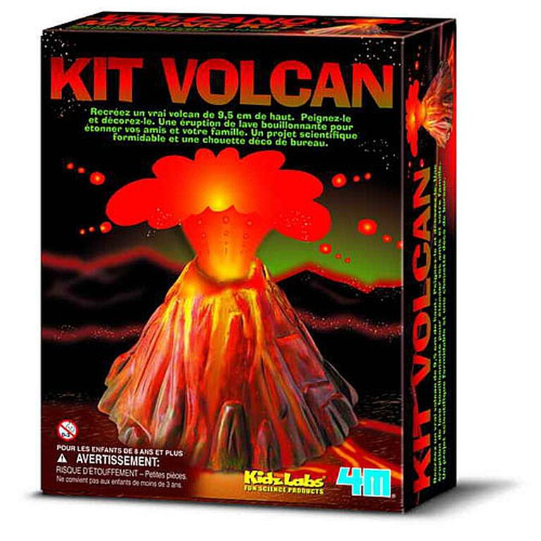4M Volcano Making Kit - French Edition