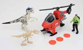 Animal Planet - Dino Exploration Playset – Helicopter Playset