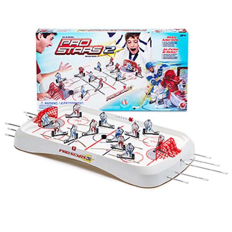 Jeu de hockey à tiges de table Pro Stars 2