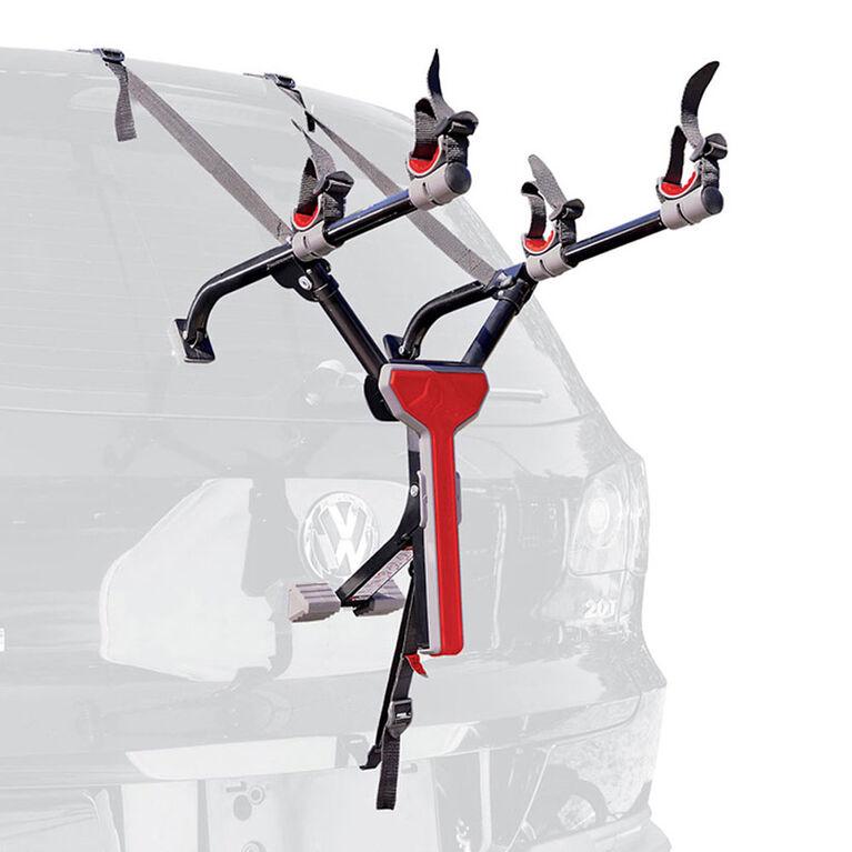 Allen Sports, MT2 - Compact 2 Bike Trunk Carrier, Black
