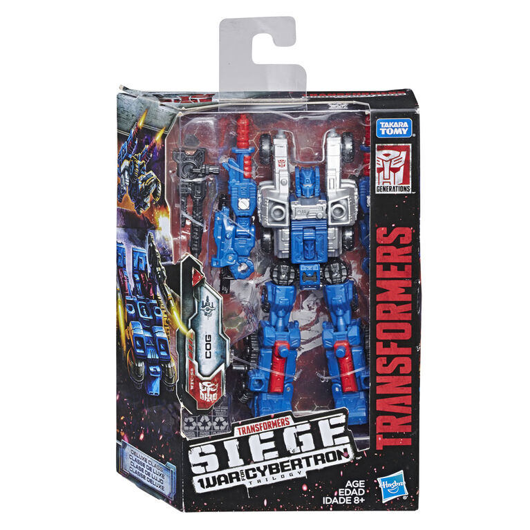 Transformers Generations War for Cybertron: Siege Deluxe Class Cog Weaponizer Action Figure