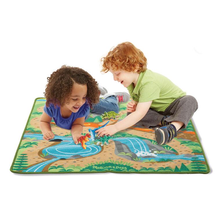 Melissa & Doug Prehistoric Playground Dinosaur Rug - styles may vary