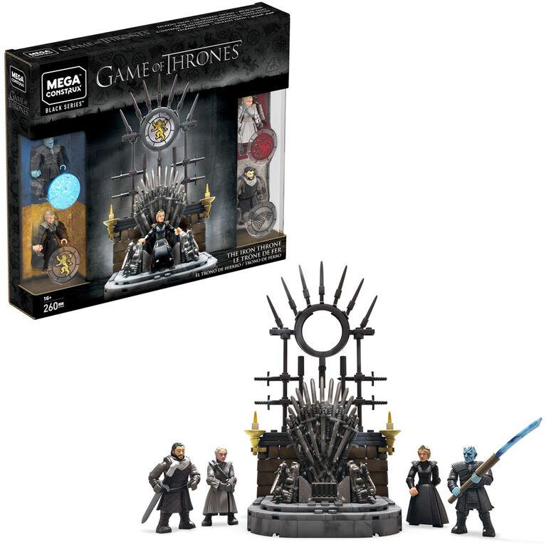 Mega Construx Game of Thrones Black Series Iron Throne