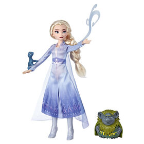 Disney Frozen Elsa Fashion Doll In Travel Outfit