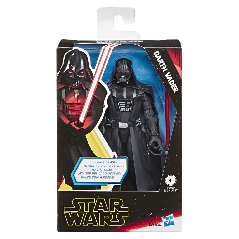 Star Wars Galaxy of Adventures - Figurine articulée Darth Vader de 12,5 cm