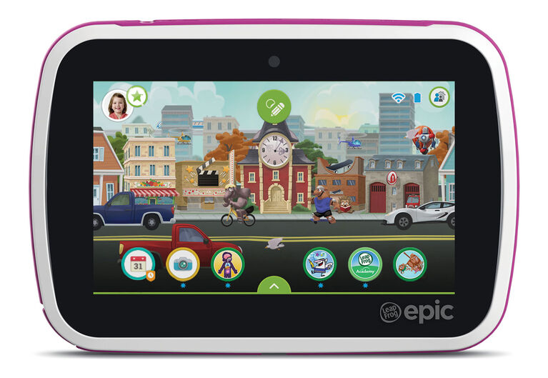LeapFrog Epic Academy Edition - Pink - Exclusive - English Edition