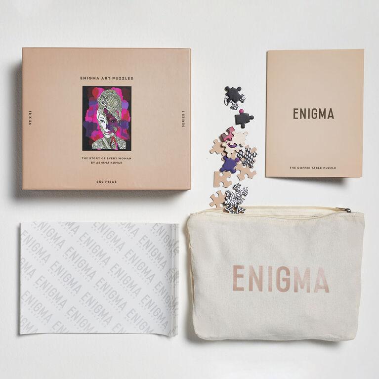 Enigma Art Puzzles Ashima Kumar 550 piece puzzle - English Edition