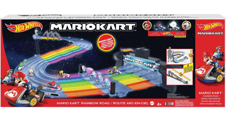 Hot Wheels Mario Kart Rainbow Road