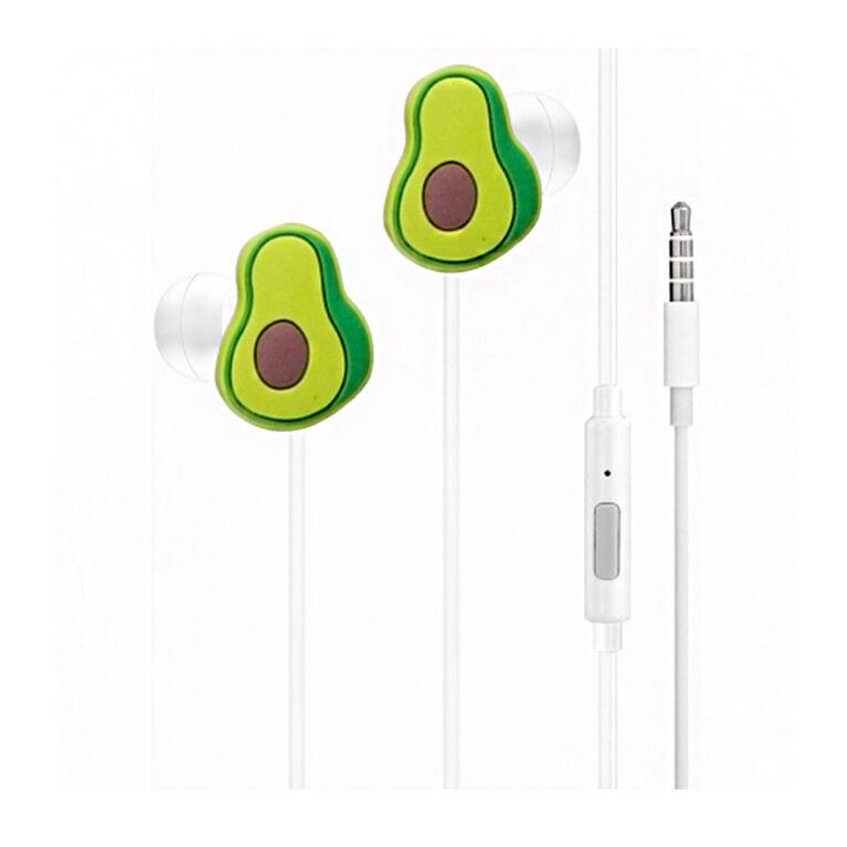 GabbaGoods Earbuds -Avocado - English Edition