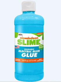 Nickelodeon 16 Oz Slime Glue-Blue