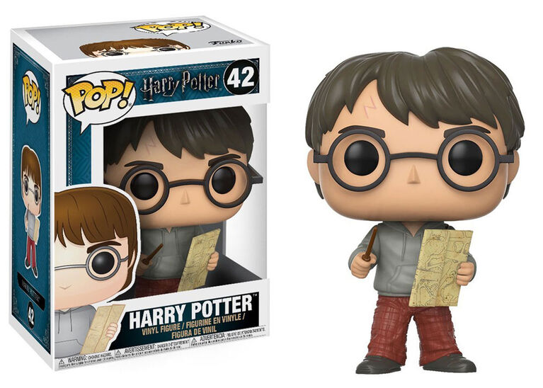 Funko Pop! Movies: Harry Potter- Harry with Marauders Map Vinyl Figure
