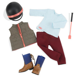 Our Generation, Well Groomed, Equestrian Outfit for 18-inch Dolls