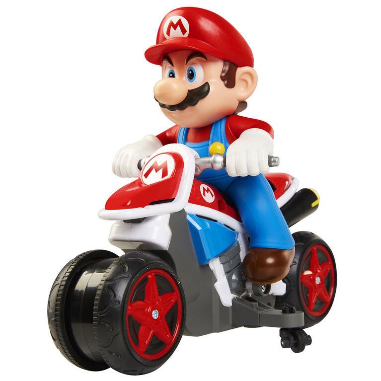World of Nintendo Mario Kart Mini Motorcycle RC Racer