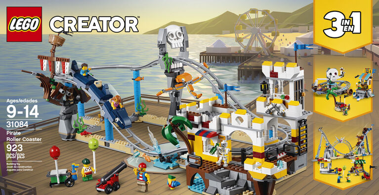 LEGO Creator Pirate Roller Coaster 31084