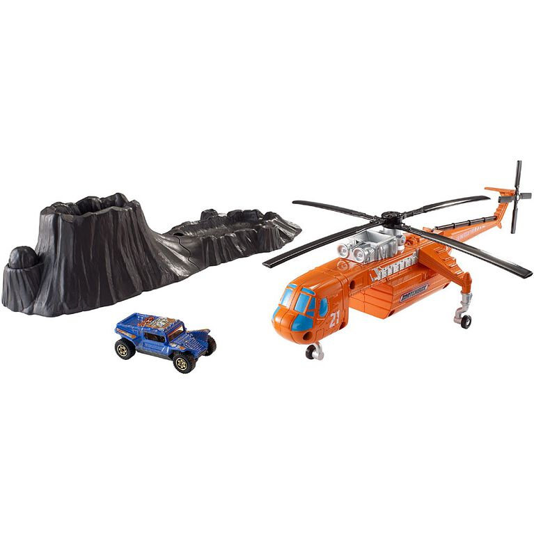 Matchbox - Volcano Rescue Playset
