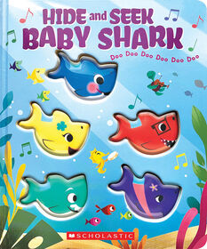 Scholastic - Hide-and-Seek, Baby Shark! - English Edition