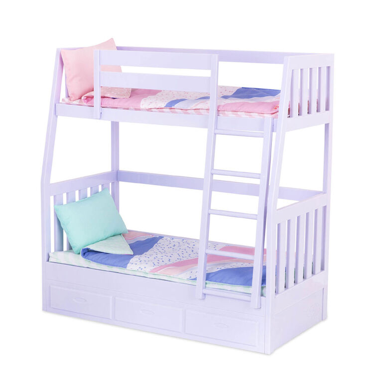 Our Generation, Dream Bunks, Bunk Beds Accessory Set for 18-inch Dolls