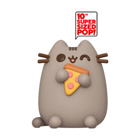 "Figurine en Vinyle Pusheen avec Pizza 10"" par Funko POP! Pusheen - R Exclusif"