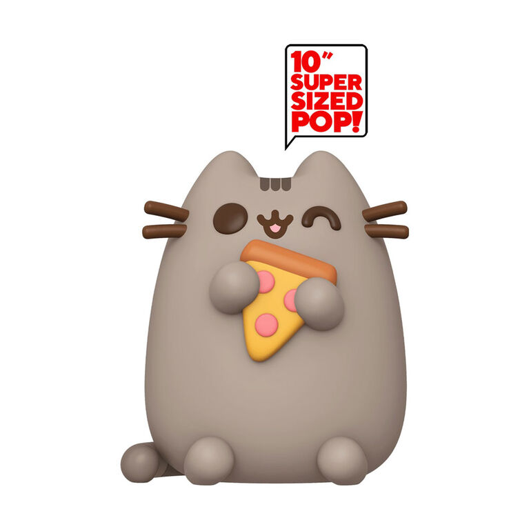 "Funko POP! Pusheen - Pusheen with Pizza 10"" - R Exclusive"