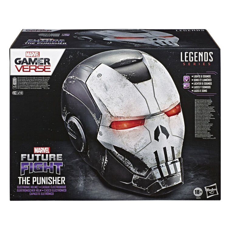 Hasbro Marvel Legends Series Gamerverse The Punisher Premium Electronic Helmet