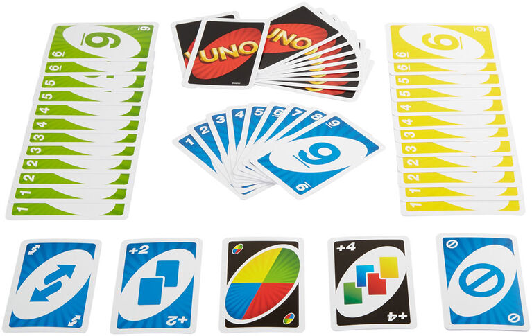 UNO Game - styles may vary