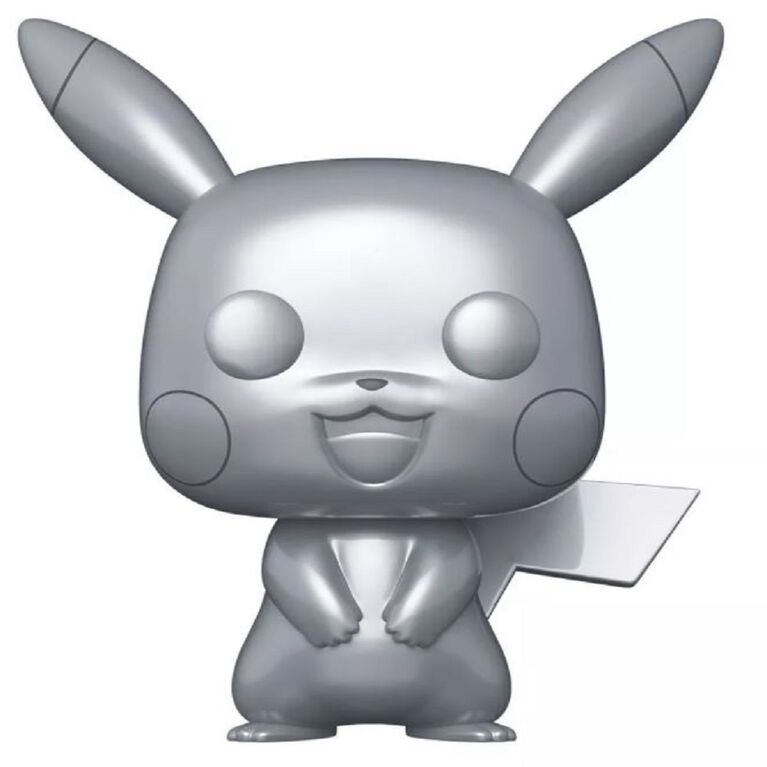 "Funko POP! Games: Pokemon - 10"" Pikachu (Metallic) - R Exclusive"