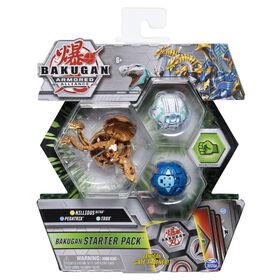 Bakugan Starter Pack 3-Pack, Nillious Ultra, Armored Alliance