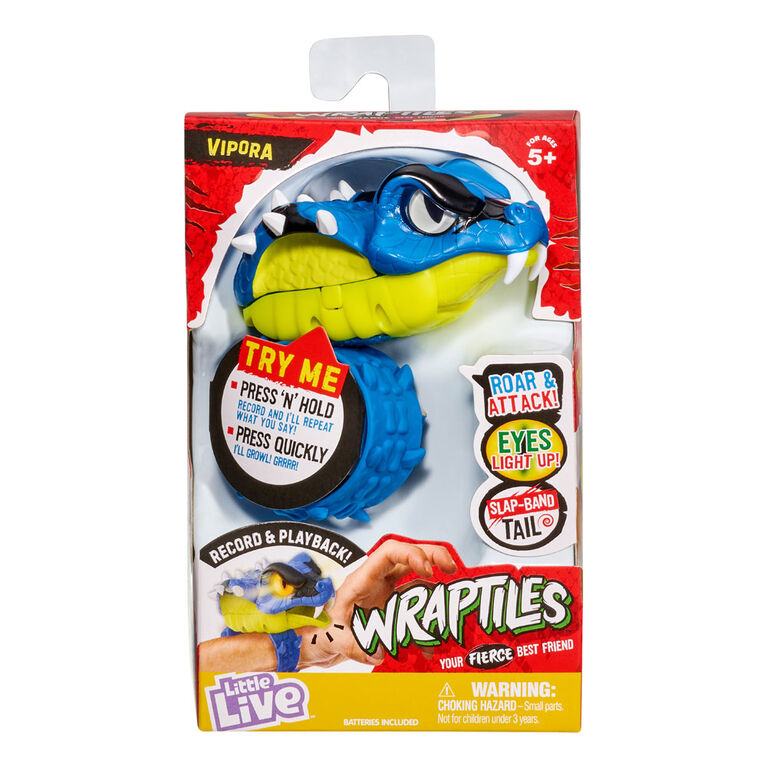 Little Live Wraptiles - Vipora