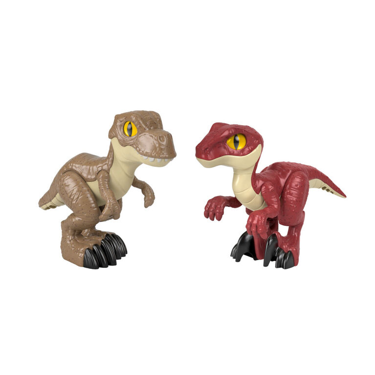 Imaginext - Jurassic World - Attack Pack - Dinosaures - Édition anglaise