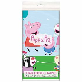 """Peppa Pig Table Cover 54""""x84"""""""