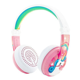 BuddyPhones Wave Wireless, Unicorn Pink