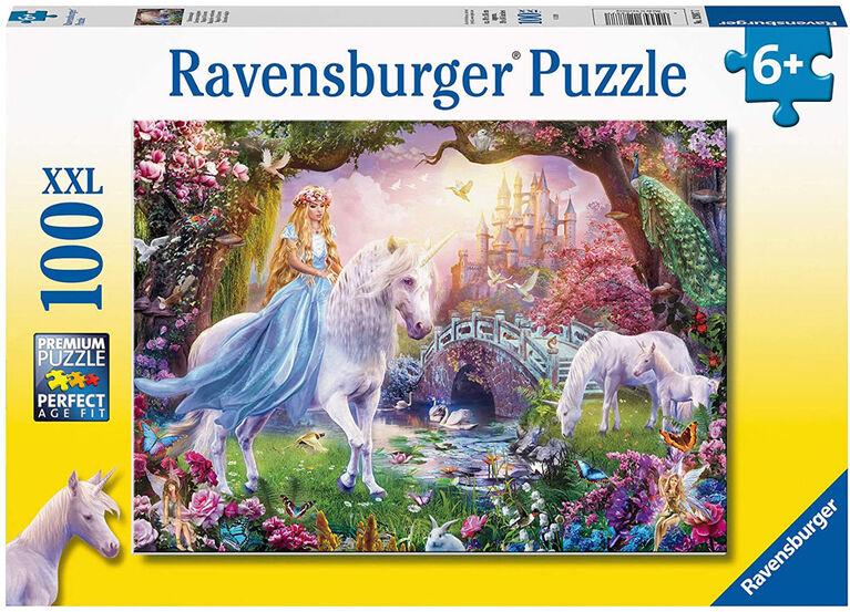 Ravensburger - Unicorn Magic Puzzle 100pc