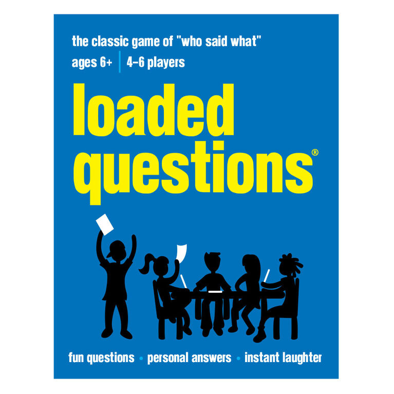 Loaded Questions Junior - Édition anglaise