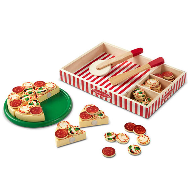Melissa and Doug Wooden Pizza Party Playset
