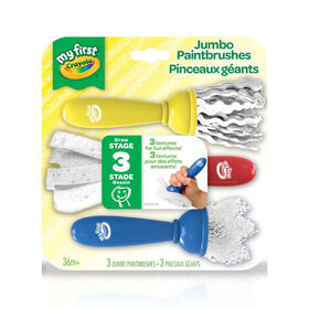 Crayola - My First Crayola Jumbo Paintbrushes