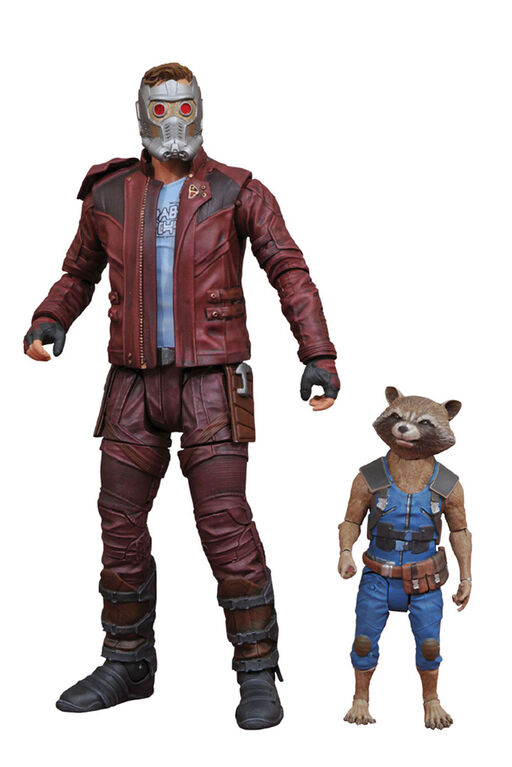 Marvel Select GOTG 2 Star-Lord & Rocket Action Figure
