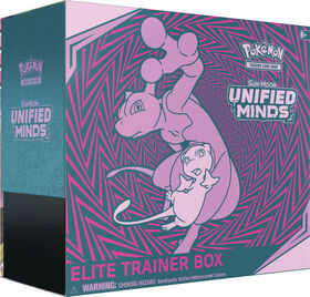 "Pokemon Sun & Moon 11 ""Unified Minds"" Elite Trainer Box"