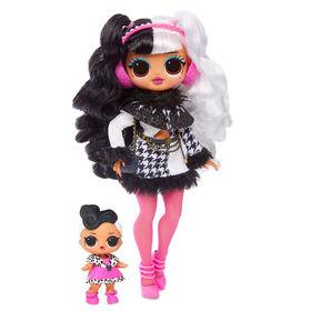 L.O.L. Surprise!  O.M.G. Poupée-mannequin Winter Disco Dollie avec sa soeur - Édition anglaise