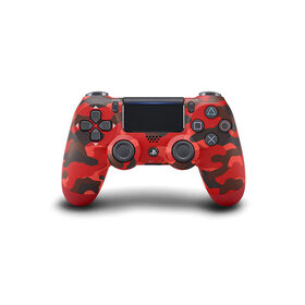 PlayStation 4 DualShock 4 Wireless Controller - Red Camo