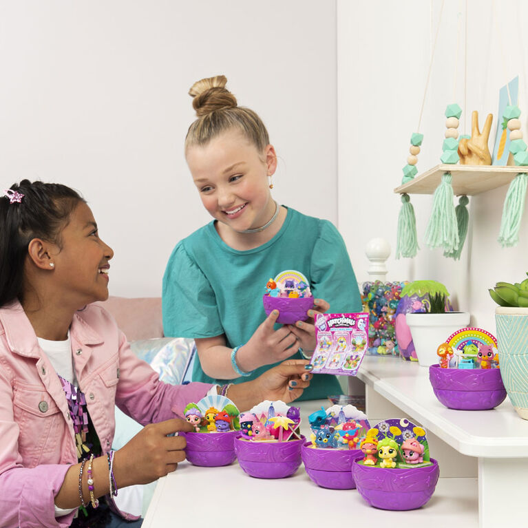 Hatchimals CollEGGtibles, Coffret Secret Surprise avec 3 Hatchimals (les styles peuvent varier)