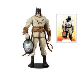 DC Multiverse Figurine Batman sur terre avec pièces Build-A-Bane