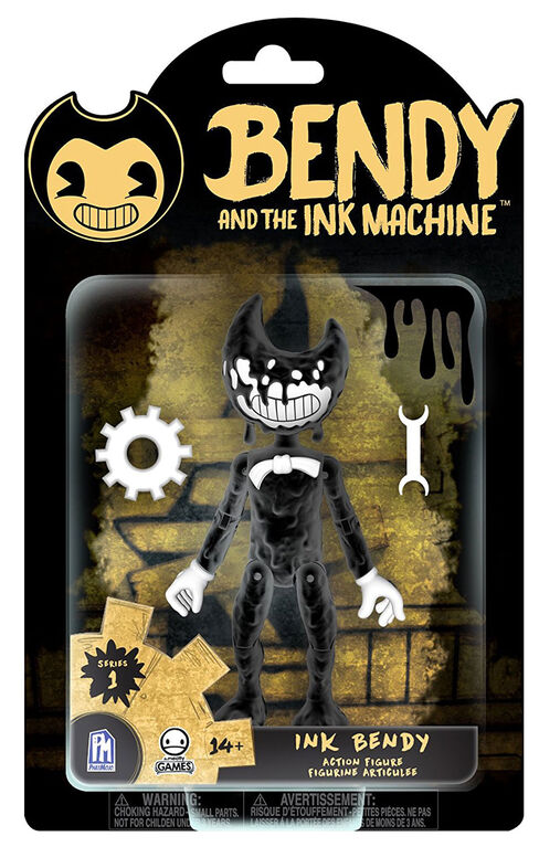 "Bendy and the Ink Machine - Ink Bendy 5"" Figure."