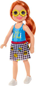 Barbie - Club Chelsea - Poupée Chelsea - rousse.