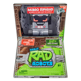 Really Rad Robots - MiBro Supabad - English Edition - R Exclusive